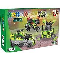 Clics 8-in-1 Space Squad Box Building Set [並行輸入品]