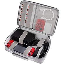 MixMart Switch ケース 収納 大容量 バッグ 任天堂 スイッチ ケース ゲームカード10枚収納 防水 耐衝撃