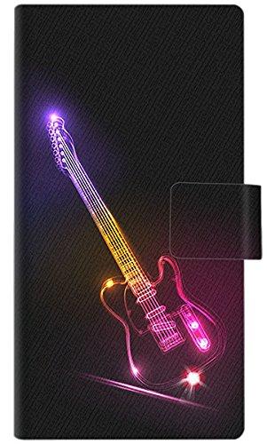 ゼンフォン3 デラックス ZS570KL スマホケース 手帳型 615 光のレスポール 横開き【ノーブランド品】