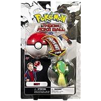 Pokemon Throw Poke Ball B&W Series #1 Snivy (Grass Type Starter With Poke Ball)