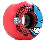 スピットファイヤー SPITFIRE WHEELS スピットファイヤー ウィール 80HD SPEEDIES BIGHEAD MELTDOWN RED 56mm SKATEBOARD スケートボード スケボー ウィール [並行輸入品]