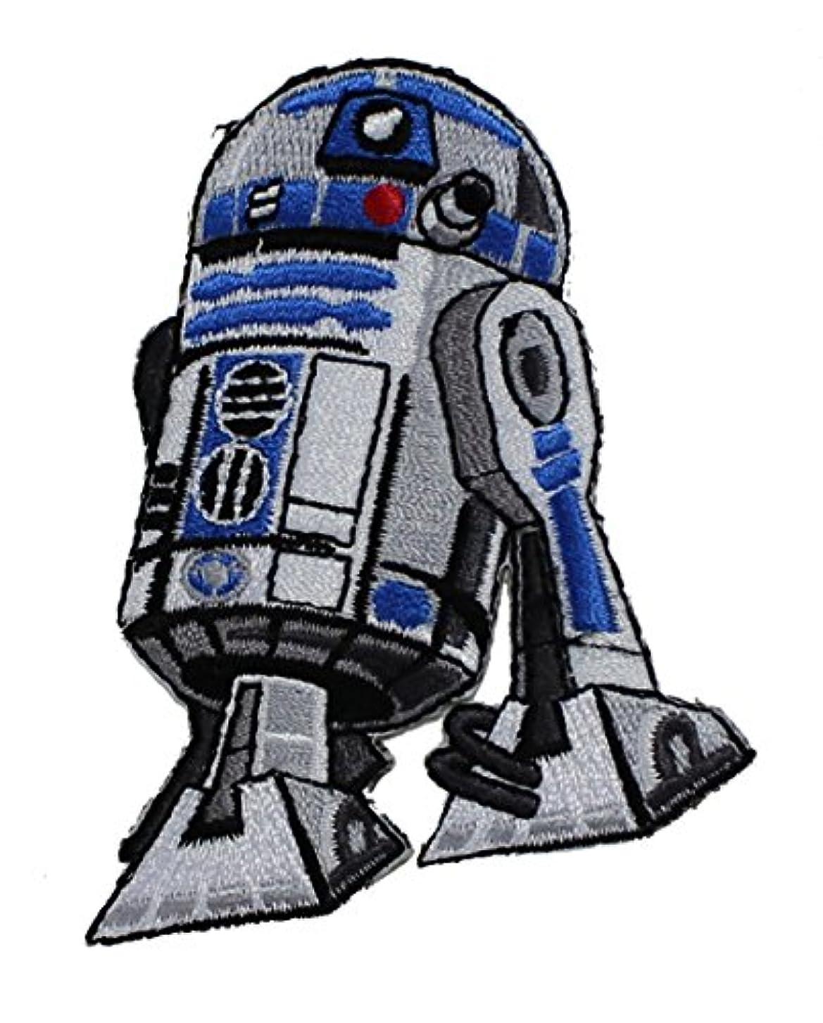 悪質なスケート文明化するSTAR WARS Clone Wars R2D2 PATCH Iron-On / Sew-On Disney Officially Licensed Movie & TV Artwork, 3