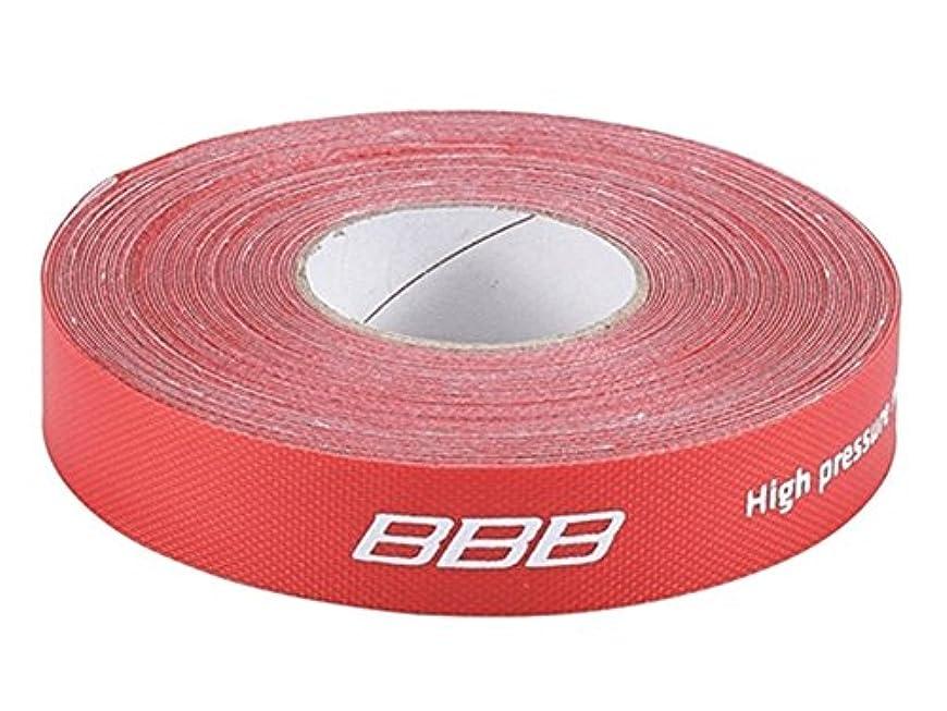 閃光使用法歌うBBB BTI-95 リムテープ 1本 レッド 18mmx10m 703031