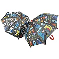FR-36P2630 Colour Changing Umbrella - Monsters