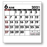 キングコーポレーション 2021年 カレンダー 壁掛け シンプルスケジュール 450×420mm KC20036