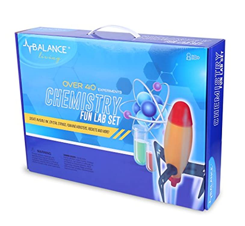 編集するブレイズボイド[バランスリビング]Balance Living Chemistry Fun Lab Set with over 40 Fun and Exciting Experiments CUL-10320 [並行輸入品]