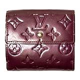 (ルイヴィトン) LOUIS VUITTON 財布 二つ折り ヴェルニ カルト クレディ Wホック ヴィオレ 紫 M93576