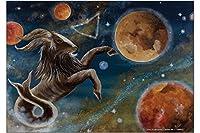 冷蔵庫用マグネット Fridge Magnet Horoscope Krakowski Capricorn Horoscope