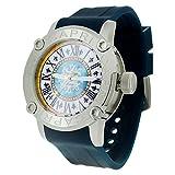 [カプリウォッチ] CAPRI WATCH 腕時計 正規品 フリーマン コレクション Freemen Collection Art. 4797 40 ブルー / シルバー 日本製 クォーツ メンズ 【並行輸入品】