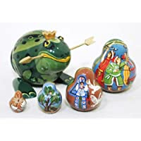 The Frog Princess Russian Nesting Doll 5pc./4 by Golden Cockerel [並行輸入品]