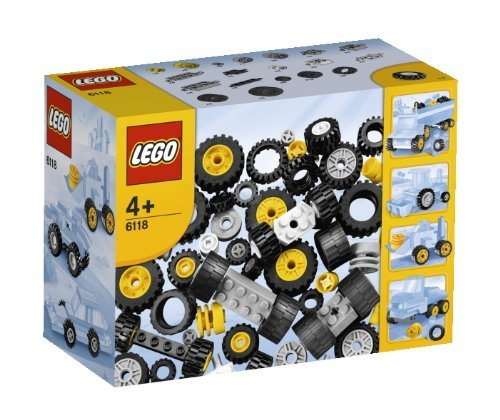 レゴ 基本セット ブロック タイヤセット 6118 並行輸入品 [並行輸入品]