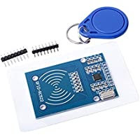 Henreal 1748/5000 13.56MHz MFRC-522 RFIDカードリーダライタモジュールMifare RC522 SPIインタフェースタグ