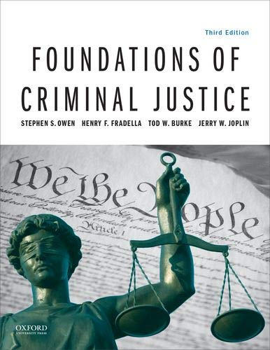 Download Foundations of Criminal Justice 0190855622