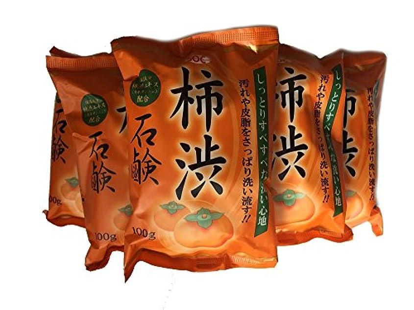 玉ねぎアナロジーラバ柿渋石鹸 100g ×6個