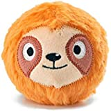 HugSmart Pet Dura Guard Series Zoo Ball Collection Durable Tennis Ball Toys for Small Medium Large Dog (Zooball Sloth)