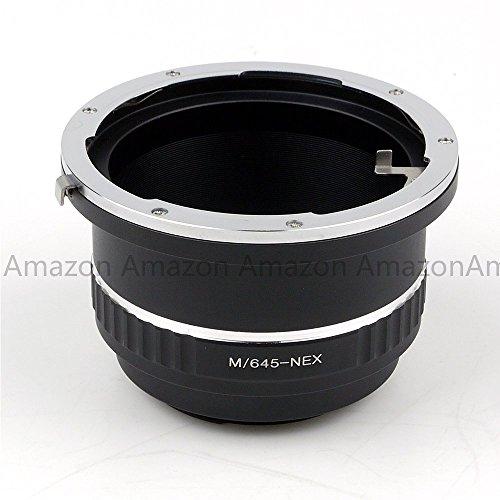 (パシュポ)Pixco レンズ アダプター ・(マミヤ)Mamiya 645 レンズ を (ソニ)Sony E マウント NEX カメラ に装着アダプター