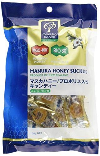 プロポリス&マヌカハニーMGO400+キャンディ 100g