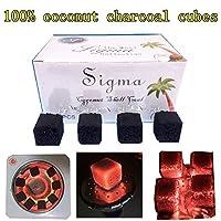 シーシャ炭 Torch シルバーチャコール(銀板型)1BOX:60ピース(水タバコ shisha ナルギレ charcoal) (ココナッツ炭72 pc)