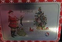 フリンジVisitから聖ニコラスクリスマスカードとメタルTin