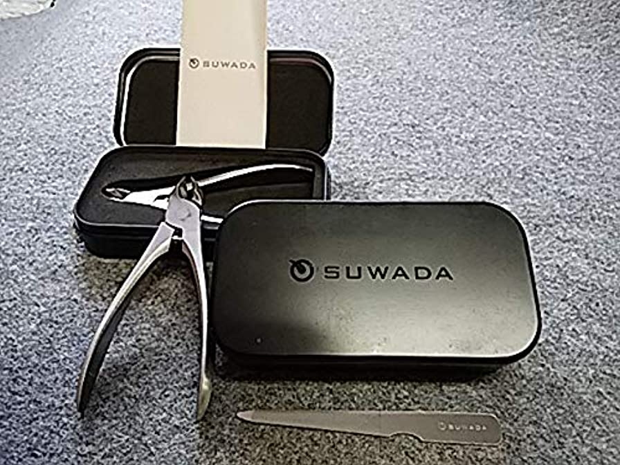 霧深いミル不公平SUWADA スワダ 爪切りクラシックL&クラシック足用&suwada爪ヤスリ 3点セット