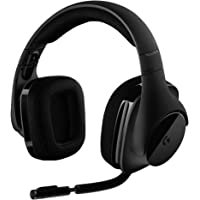 Logicool G Gaming Headset, Wireless, Wireless, G533 Dolby 7.1 Ch, Noise Cancelling, Foldable…