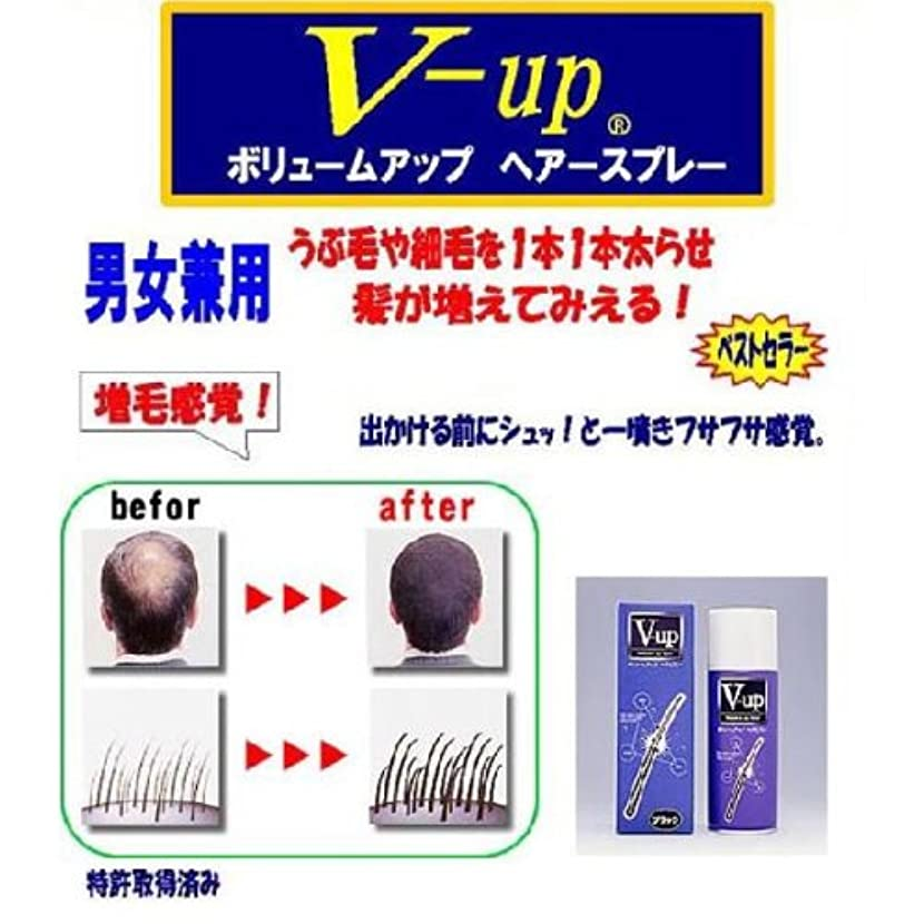 古風な計画的嫌悪V-アップヘアスプレー200g【カラー:ダークブラウン】