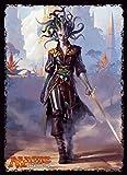 マジック:ザ・ギャザリング プレイヤーズカードスリーブ 『イクサランの相克』 《ゴルゴンの陰謀家、ヴラスカ》 (MTGS-029)