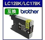 Amazon.co.jpブラザー Brather◆LC12BK/LC17BK(ブラック)対応 LC12/LC17系 互換インクカートリッジ