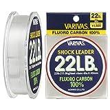 VARIVAS(バリバス)  ショックリーダー  フロロカーボン 30m 6号 22lb ナチュラル