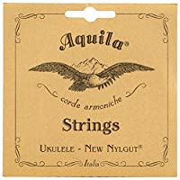 Aquila New Nylgut AQ-17 Tenor Ukulele Strings - 1 Set of 6 [並行輸入品]