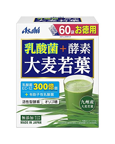 Asahi 乳酸菌+酵素 大麦若葉