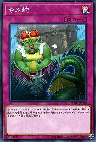 遊戯王/やぶ蛇(ノーマルレア)/フレイムズ・オブ・デストラクション
