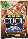 UHA味覚糖 CUCU(キュキュ) とろける塩キャラメルミルク 糖質50 オフ 75g×6袋入