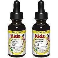 ECLECTIC kids エクレクティック キッズ ハーブサプリメント バレリアン・パッションフラワー チンキ 液体 1オンス 29.5ml 2個セット