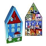 【正規輸入(デンマーク)】Barbo toys (バルボトイ) ムーミン デコパズル ムーミンハウス ルーム BBT990003