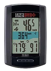 キャットアイ(CAT EYE) ステルス エボ プラス [CC-GL51] stealth evo+ GPS ANT+対応 スピードセンサーレス CC-GL51