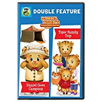 Daniel Tiger's Neighborhood Double Feature: Daniel Goes Camping and Tiger Family Trip DVD [並行輸入品]
