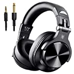 OneOdio DJヘッドホン モニターヘッドホン 低音強化 Bluetooth オーバーイヤー ヘッドホン 有線-無線 ヘッドフォン 密閉型 FuSion A7