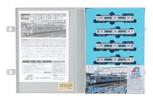 Nゲージ A4980 E127系100番台大糸線 4両セット