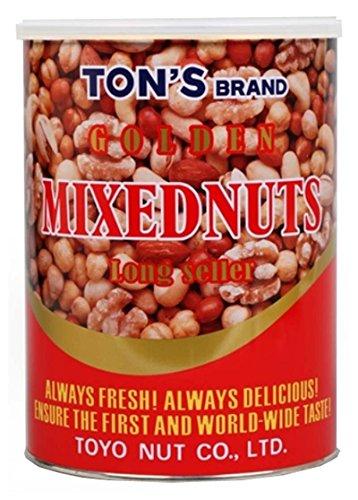 ゴールデンミックスナッツ 缶 900g