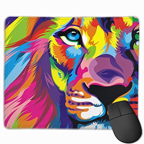 滑らかなマウスパッド ライオンの頭 モバイルゲーミングマウスパッド ワークマウスパッド オフィスパッド shubiao-9167998