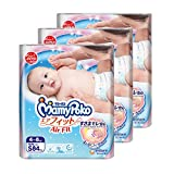 MamyPoko Air Fit Tape, S, 84 Count, (Pack of 3)