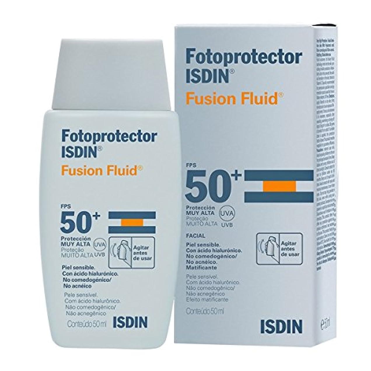 ファンタジーリルアクセントIsdin Fotoprotector Fusion Fluid Spf50+ 50ml [並行輸入品]