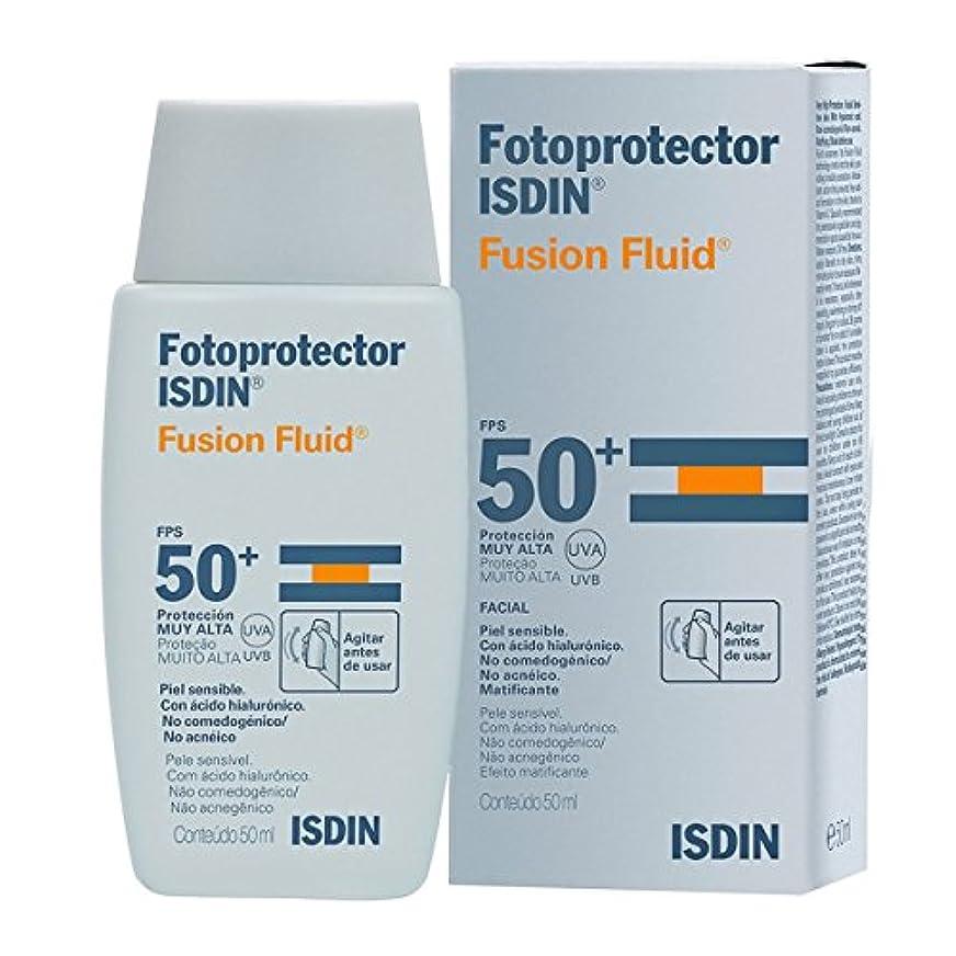 媒染剤恐怖恐怖Isdin Fotoprotector Fusion Fluid Spf50+ 50ml [並行輸入品]