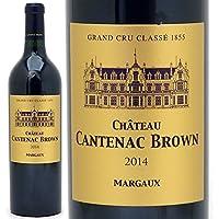 [2014] シャトー カントナック ブラウン 750ml (マルゴー第3級)赤ワイン【コク辛口】((ADCW0114))