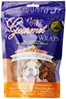 Loving Pets All Natural Premium Sweet Potato and Chicken Wraps with Glucosamine and Chondroitin Dog Treats, 8 oz by Loving Pets