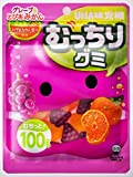 味覚糖 むっちりグミグレープ&とぴあみかん 100g×10袋