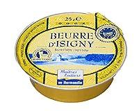 東京468食材 フランスバター 発酵バター イズニー ISIGNY A.O.P(無塩)バターコーヒー <フランス産>【25g】【冷蔵品】