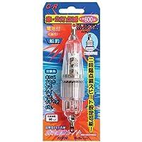 ルミカ(日本化学発光) 水中集魚ライト C型 赤(2灯) C20202 レッド