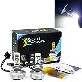「Neverland」H7 車検対応ledヘッドライト CREE社製LEDチップ搭載 2個合計60W・6000LM 一体型設計 LEDデイライト・フォグライト 2個セット